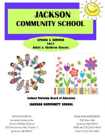 Community School Fall Brochure