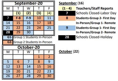 '20-'21 Calendar