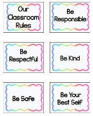 Our class rules