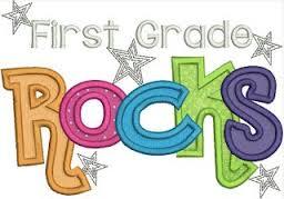 first grade rocks