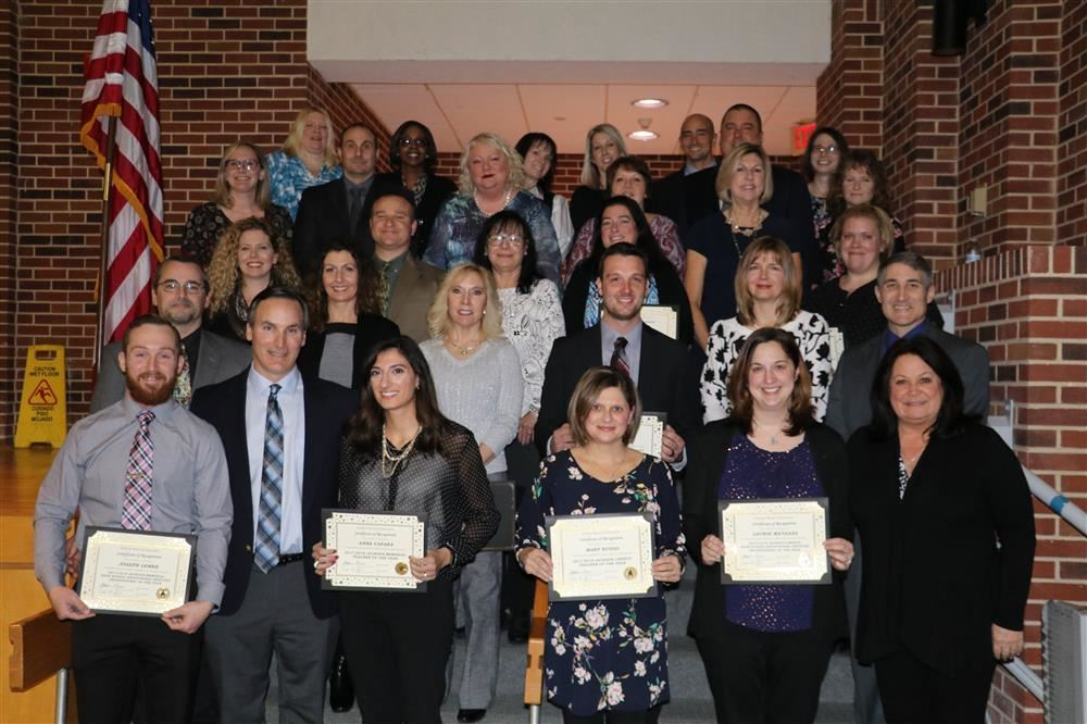 Teachers of the Year and Educational Service Professionals of the Year