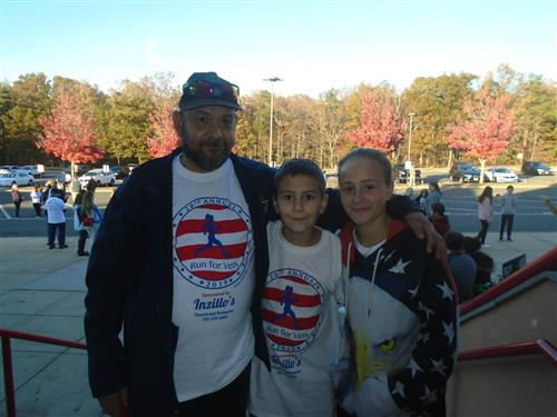 McAuliffe Family at the Run for Vets