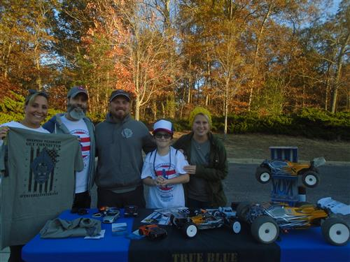 Table at the Run for Vets Event