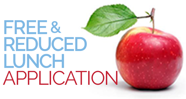 free and reduced lunch application sign