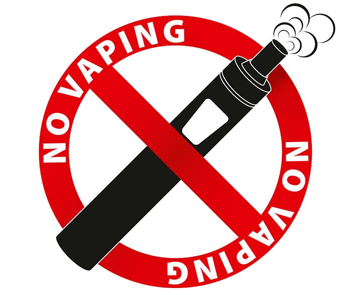No Vaping Logo