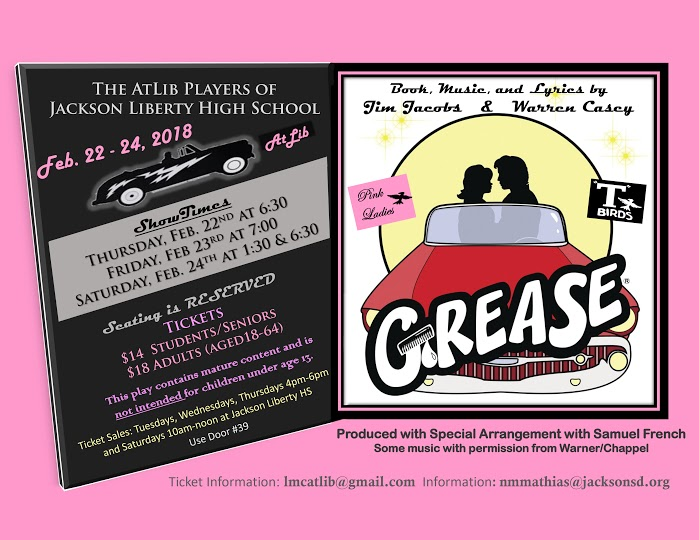 "Atlib Players present ""Grease"""