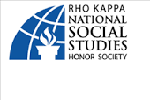 Rho Kappa Social Studies Honor Society Candidate Applications due March 16th