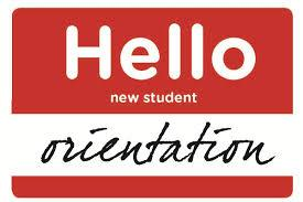 new student orientation name badge