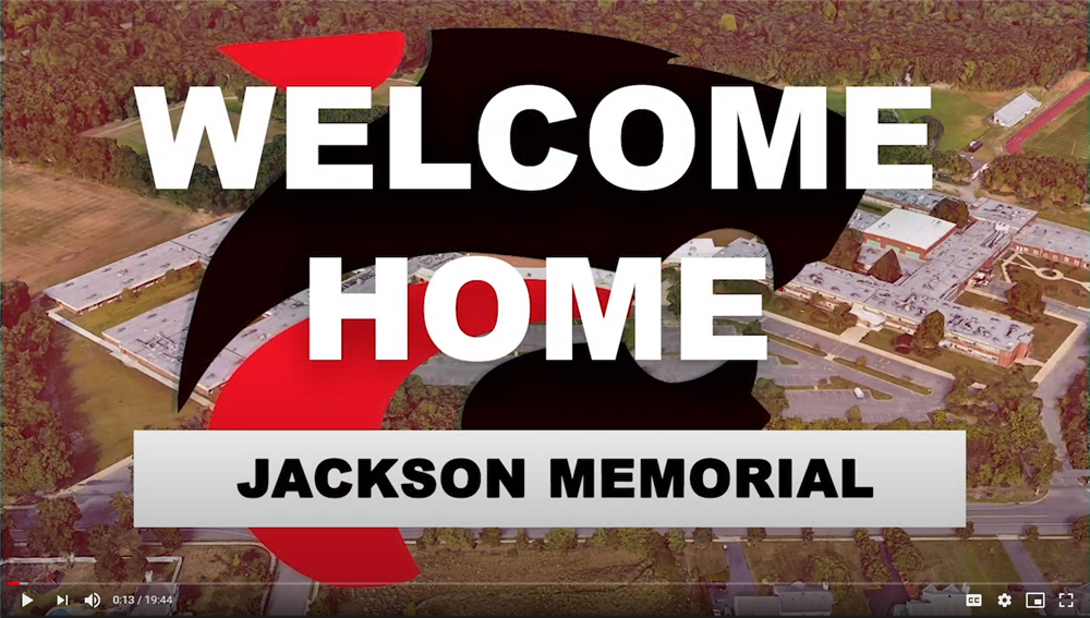 first frame of video showing title of New Student Orientation video