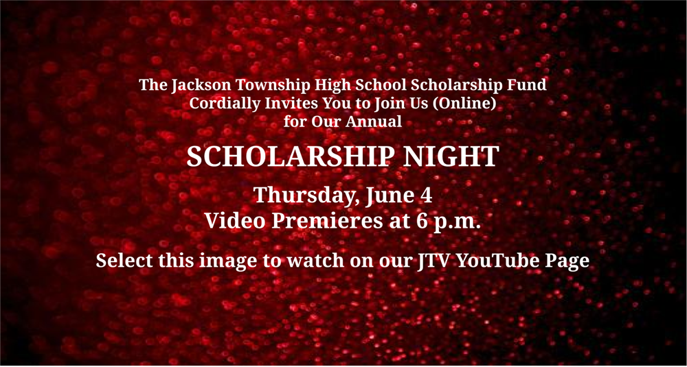 invitation to watch scholarship night video