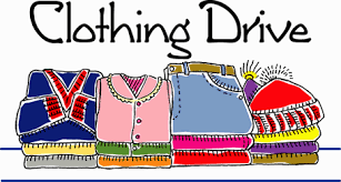 Clothing Drive Clipart Image