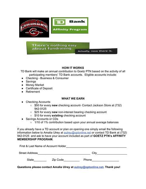 Ptn Parent Teacher Network Td Bank Infinity Program