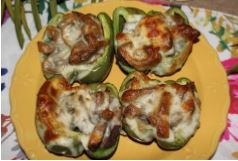 March 2019:  Philly Cheesesteak Stuffed Pepper