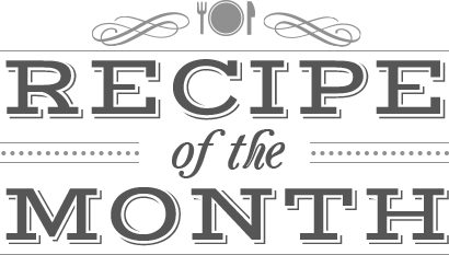 Recipe of the Month Logo