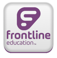 logo for the Frontline education app