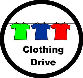 Clothing Drive - 4/17