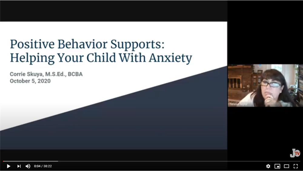 screenshot of SEAC video on anxiety