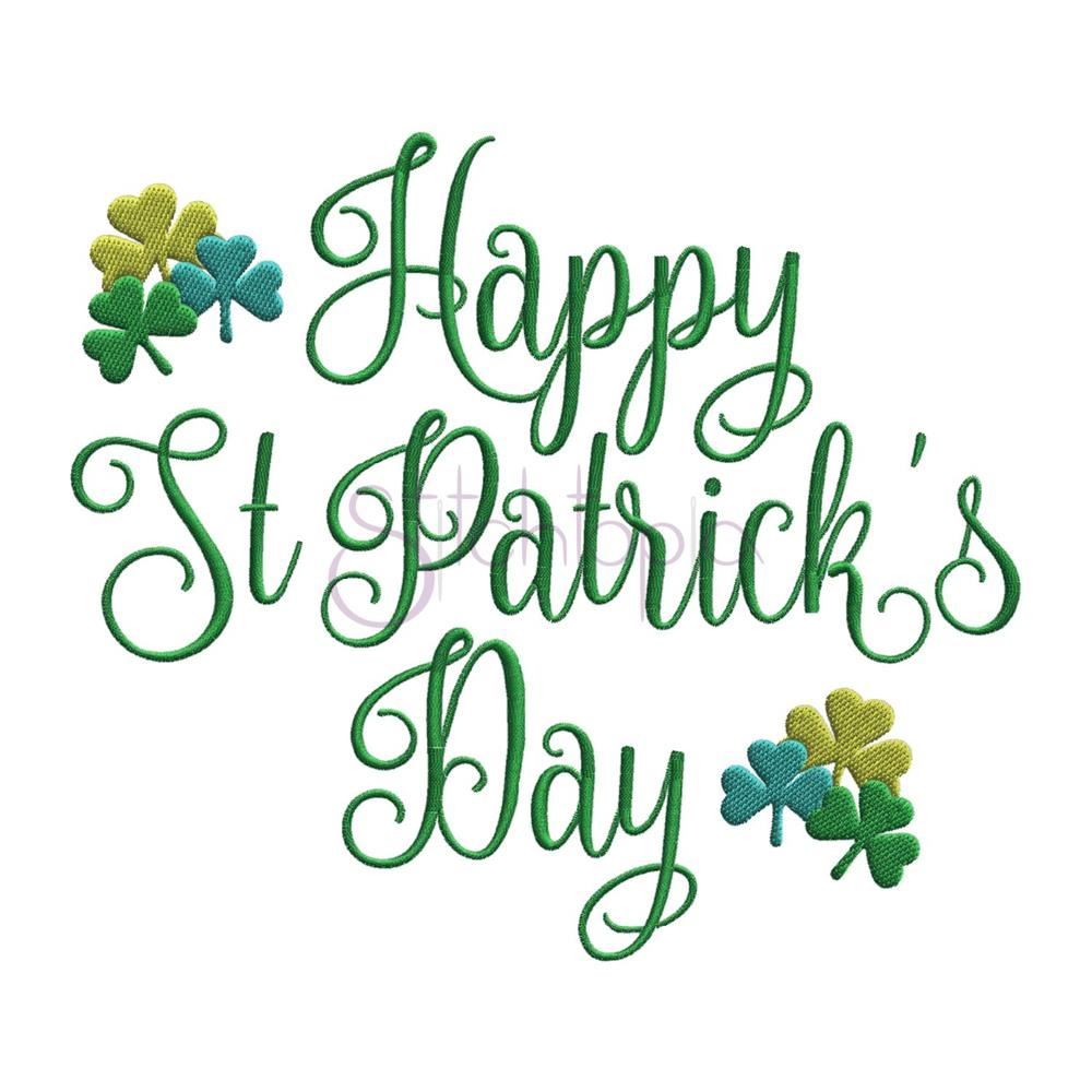 Wear GREEN Friday for St. Patrick's Day!