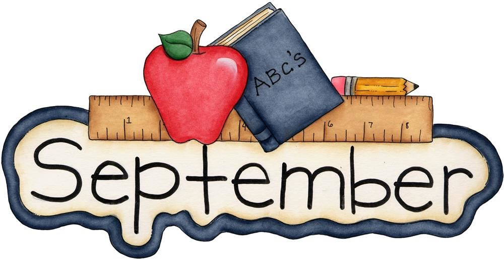 September Principal's Message