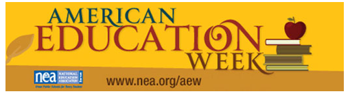 American Education Week - Nov. 13th & 14th