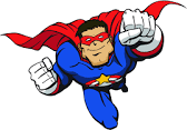 It's SUPERHERO Day! Wear your SUPERHERO clothing on Tuesday, January 31st Holman School students will attend the OmegaMan Assembly