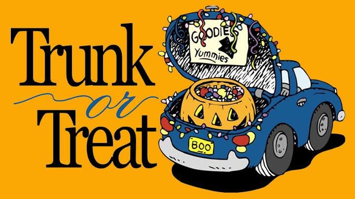 Trunk or Treat - October 26, 2018