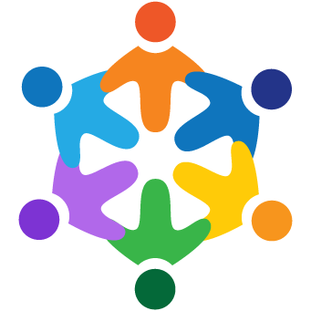 Social Skills Logo Featuring Kids in Circle