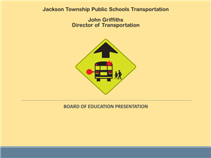 cover of transportation slides