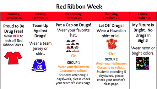 Red Ribbon Week 2020 - New
