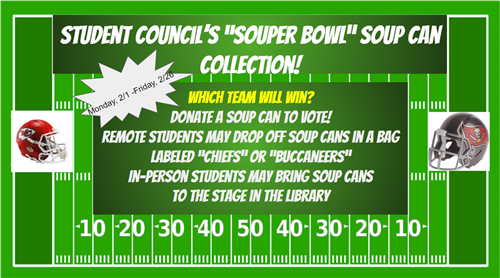 Donate Soup Cans