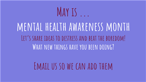 cover of Nurse Document showing may is mental health awareness month