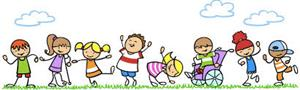 Kids Playimg Banner