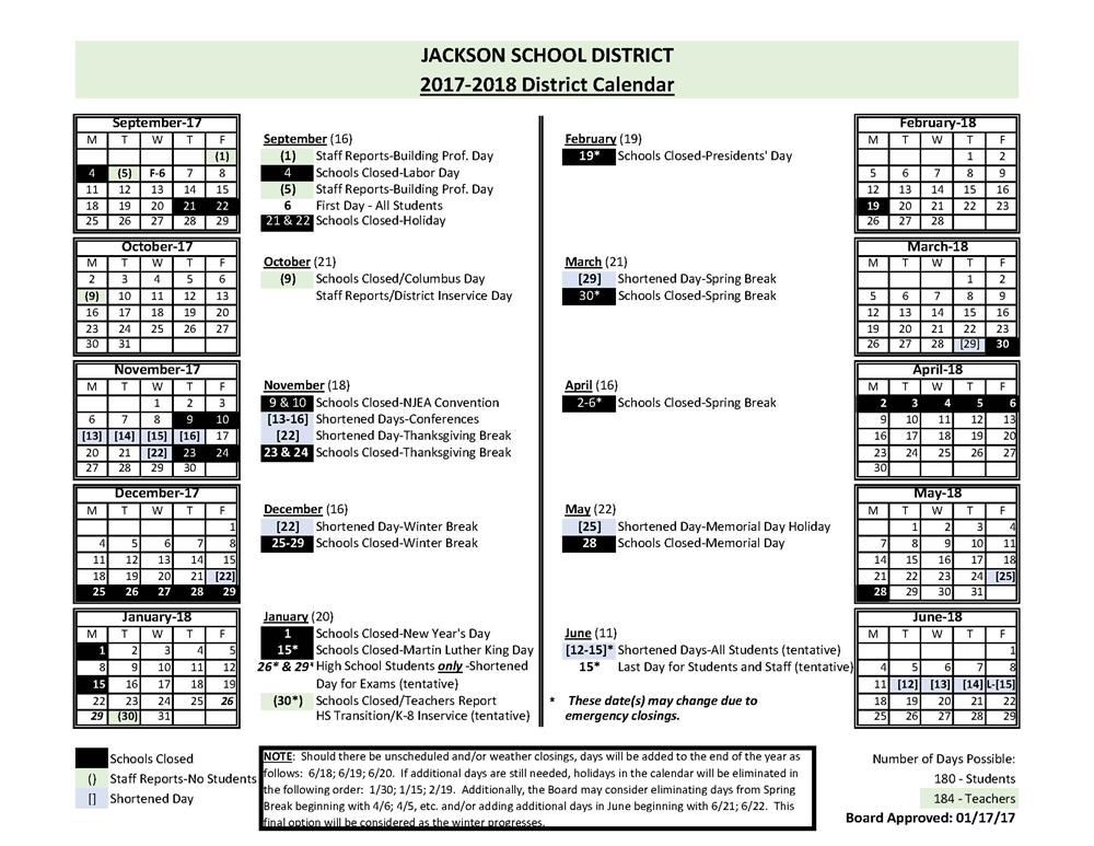 Jackson School District / Homepage