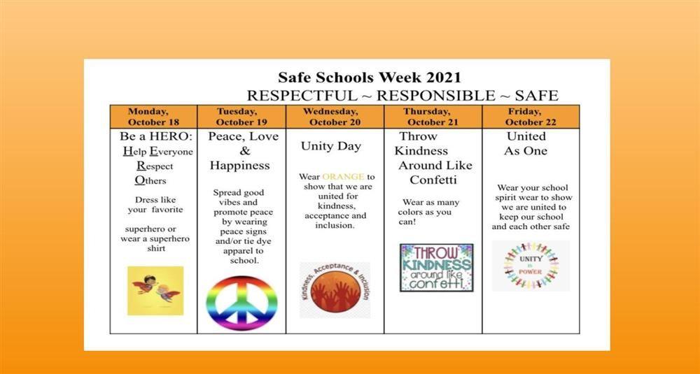 Safe School, week, 2021