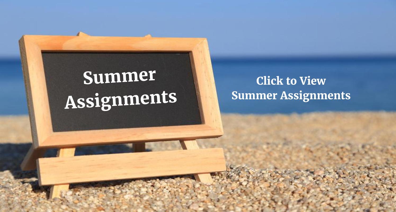 summer asignment